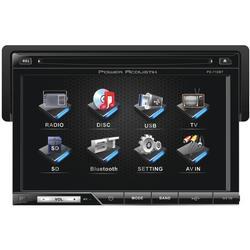 Power Acoustik PD-710B 7'' Single-DIN In-Dash LCD Touchscreen DVD