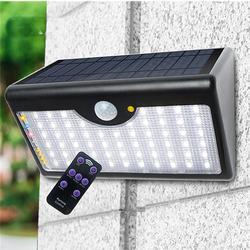 LED Solar Power Motion Sensor Wall Light Outdoor Lamp