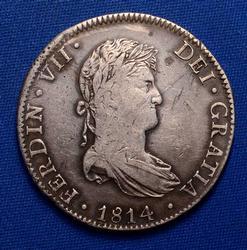 1814 Mo JJ 8 Reales