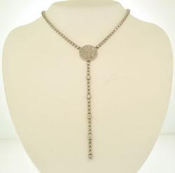 Gorgeous 7cts RBC Diamond Tennis Necklace