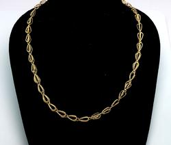 Special 14KT Textured Link Chain