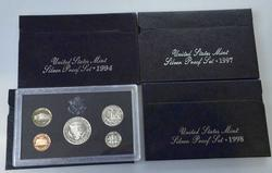 94, 95, 97 &98 US Silver Proof Sets