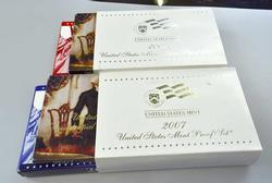 2007 Silver and Clad US Proof Sets