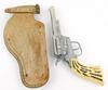 Vintage Pony Boy Cap Gun & Leather Holster