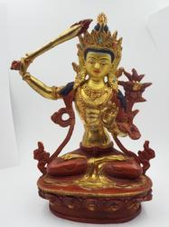 Tibetan Deity Manjushree God of Insight and Knowledge