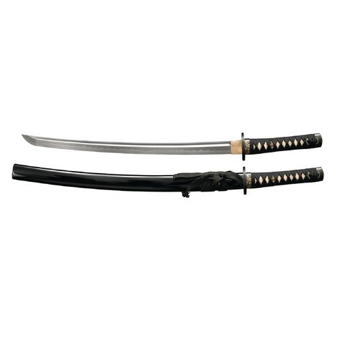 Cold Steel Gold Lion Wakishashi Sword-21in Blade