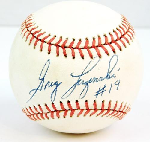 Greg Luginski Signed Baseball