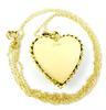 Beautiful Vintage 14K Heart Locket & Chain