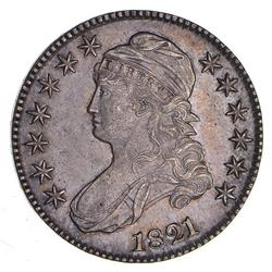 1821 Capped Bust Half Dollar - Choice