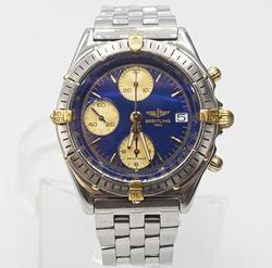 Gents Stainless Steel Automatic Breitling Chronomat