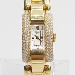 18Kt Yellow Gold Chopard La Strada Diamond Watch