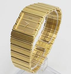 18Kt Yellow Gold Piaget Polo Unisex Swiss Watch