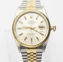 Gents 18Kt And Stainless Steel Rolex Datejust