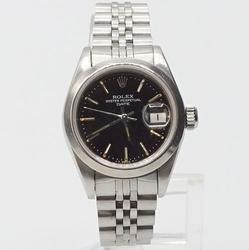 Ladies Stainless Steel Rolex Date Jubilee Bracelet