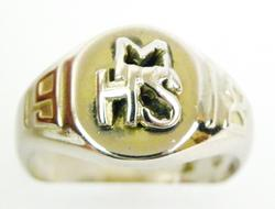 Antique 1918 Ladies Class Ring