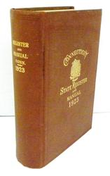 1923 Connecticut State Register & Manual, Pull Out Maps