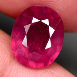 Vibrant 7.01ct imperial red Ruby