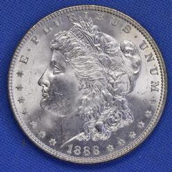1888 BU Morgan Silver Dollar