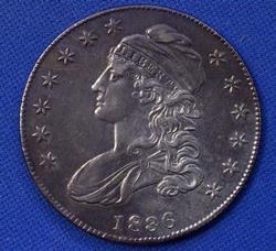 Excellent 1836 Capped Bust 50C