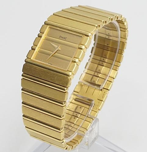 18Kt Yellow Gold Piaget Polo Unisex Swiss Watch