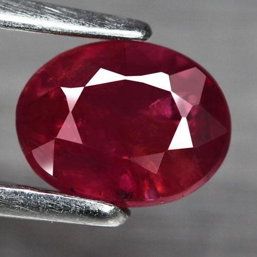 Stunning .99ct rare unheated Ruby