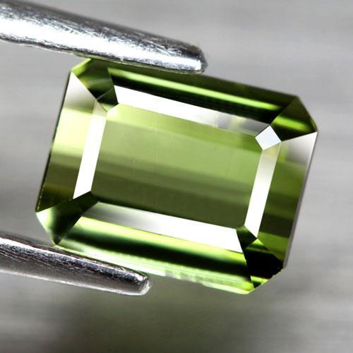 Premium 1.01ct open color bright green Tourmaline