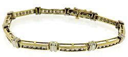 Amazing Diamond Channel Set Bracelet
