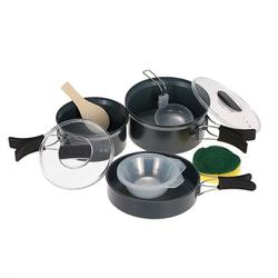 Cookpot Camping Cookware Outdoor Pot Sets Multifunction