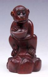 Japanese Netsuke Hand Carved Boxwood