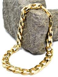 Wonderfully Heavy Men's 18K Link Bracelet