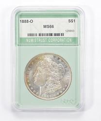 MS66 1888-O Morgan Silver Dollar - Graded NTC