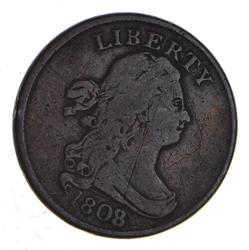 1808/7 Draped Bust Half Cent - Circulated