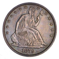 1879 Seated Liberty Half Dollar - Choice