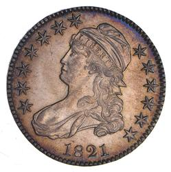 1821 Capped Bust Half Dollar - Uncirculated