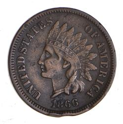 1866 Indian Head Cent - Circulated
