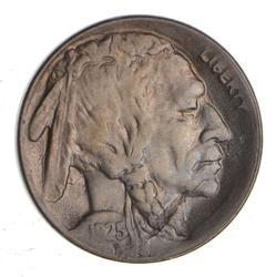 1925-D Indian Head Buffalo Nickel - Near Uncirculated