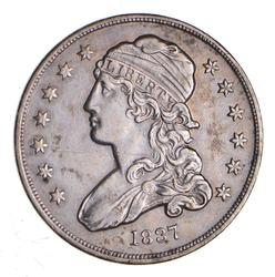 1837 Capped Bust Quarter - Circulated