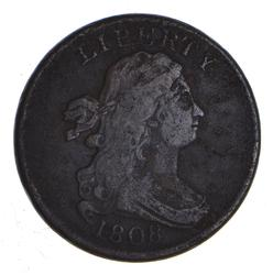 1808 Draped Bust Half Cent - Circulated