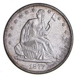 1877-S Seated Liberty Half Dollar - Choice
