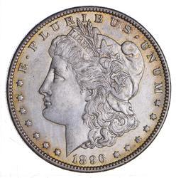1896-O Morgan Silver Dollar - Circulated