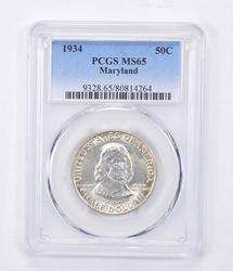 MS65 1934 Maryland Commemorative Half Dollar - Graded PCGS