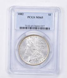 MS65 1882 Morgan Silver Dollar - Graded PCGS