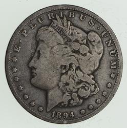 1894 Morgan Silver Dollar - Circulated