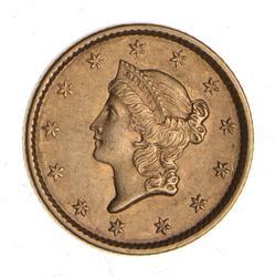 1852 Liberty Head Gold Dollar - Circulated