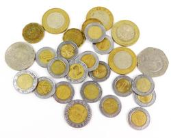 27 Vintage Mexican Coins