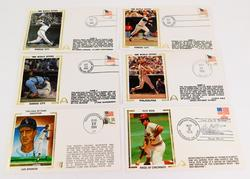 6 Special Baseball Stamp Covers