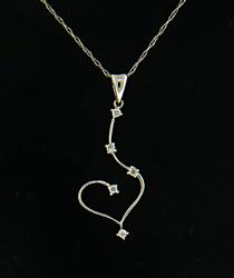 Diamond Accent Heart Necklace