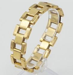 18kt Yellow Gold Rolex-Style Bracelet