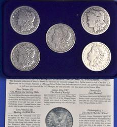 Morgan Dollar Complete Mint Mark Set