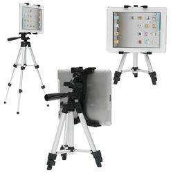 3 Sections Adjustable Tripod Tablet Stand For 7-14 Inch